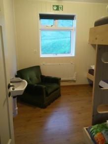 Vik hostel, main bedroom