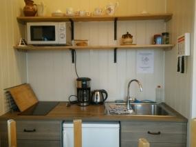 Vik hostel, kitchen